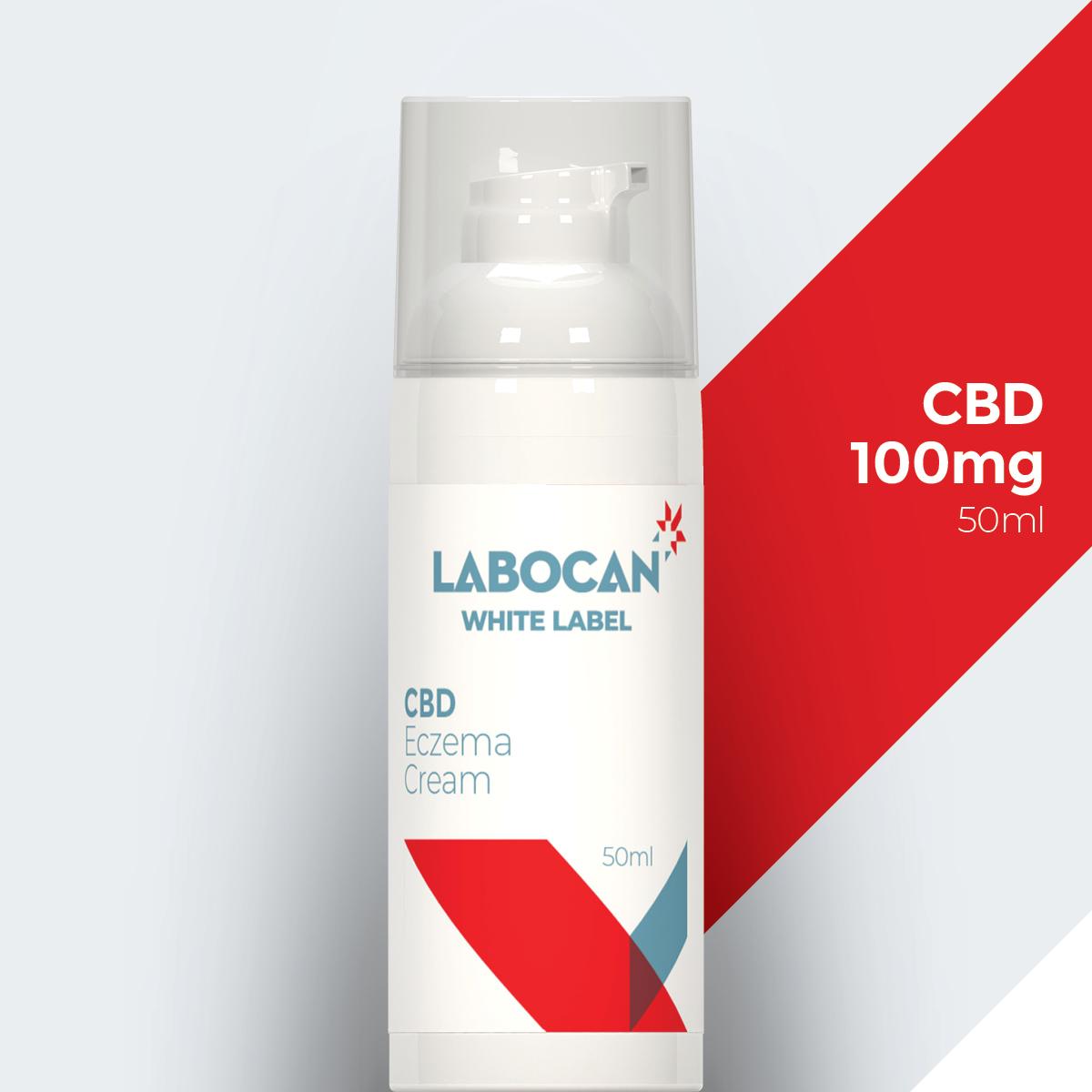Labocan White label CBD Eczema Cream