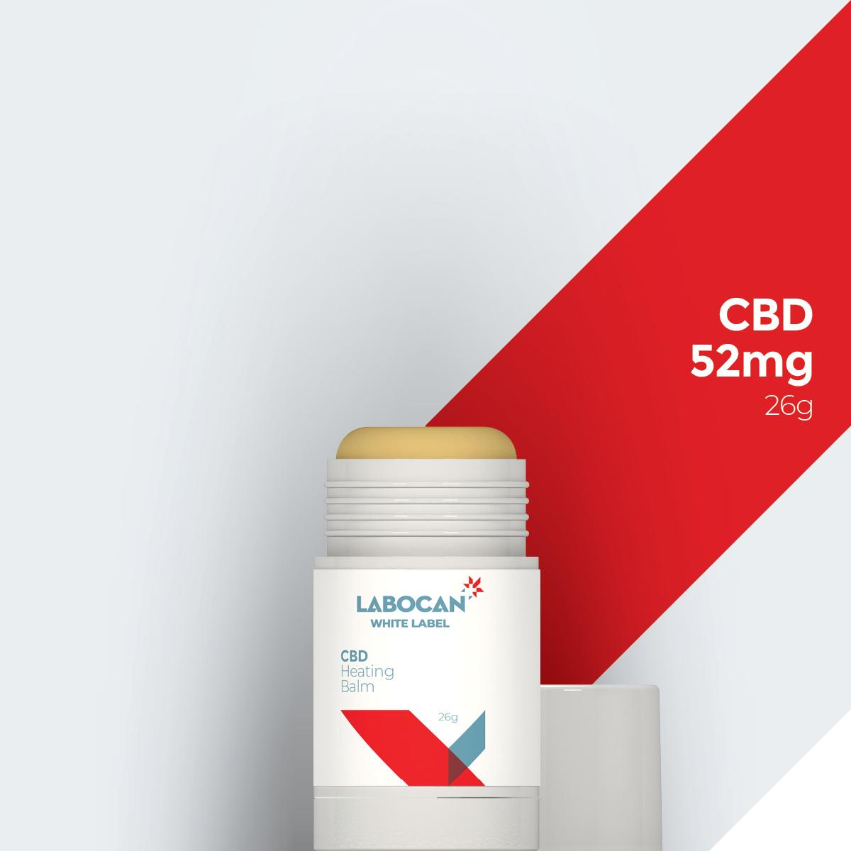 Labocan White Label CBD heating balm