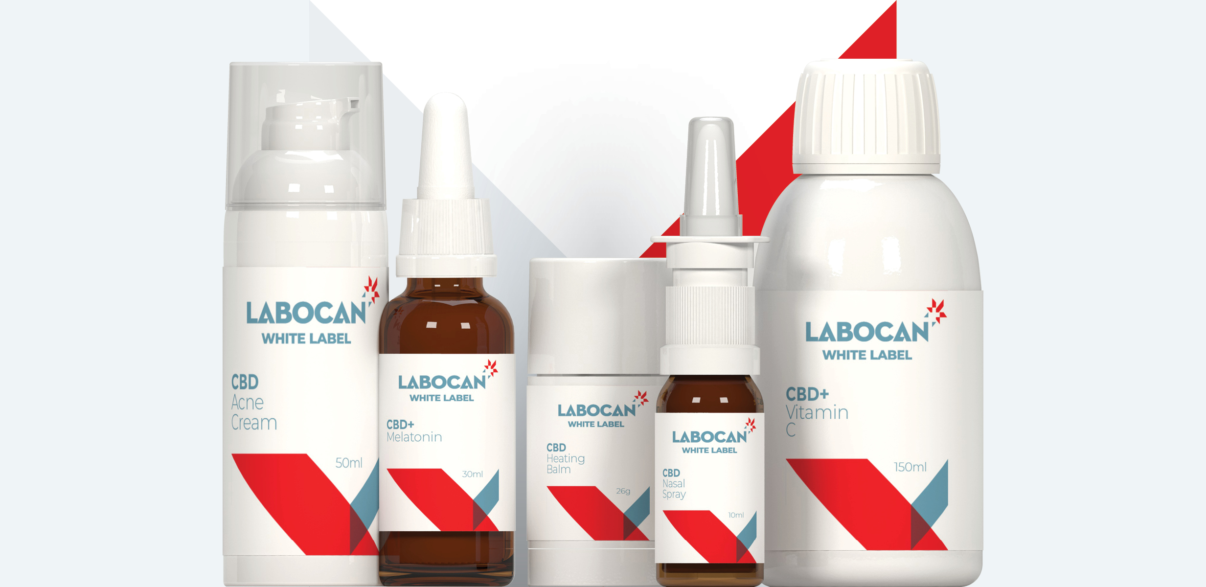 Labocan White label CBD supplements with vitamins