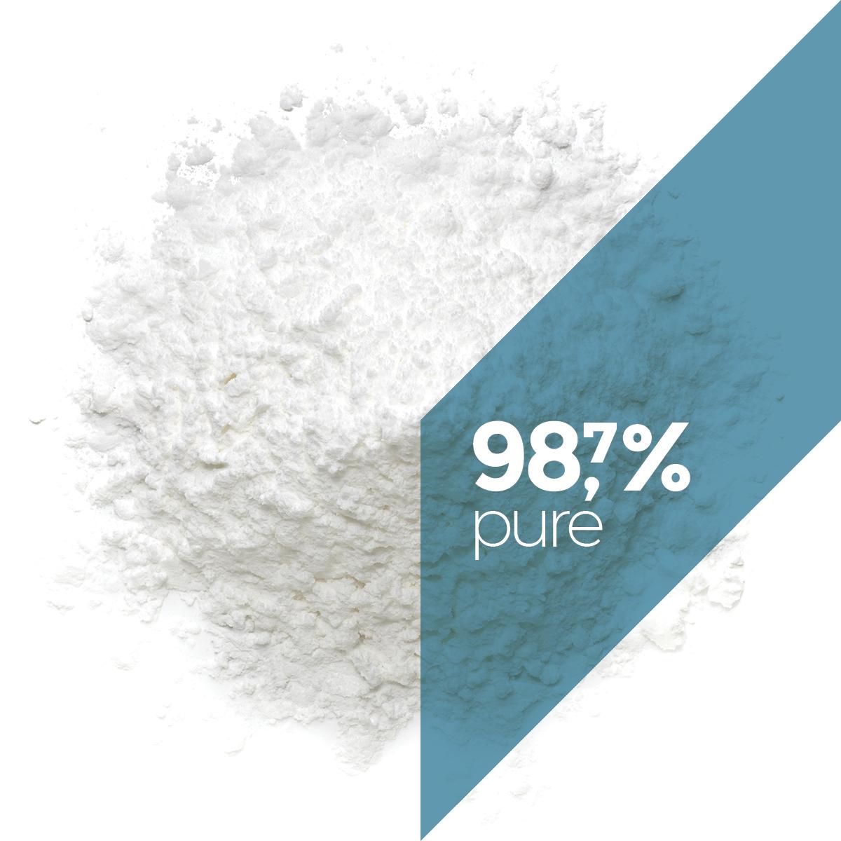 98,7% pure CBD