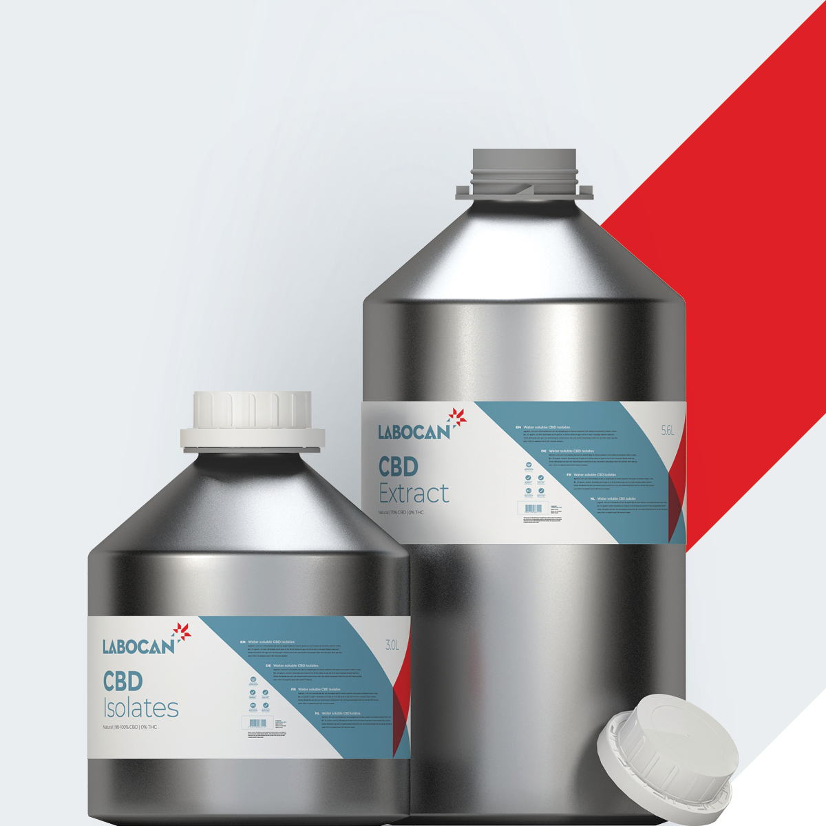 CBD Isolates and CBD Extract