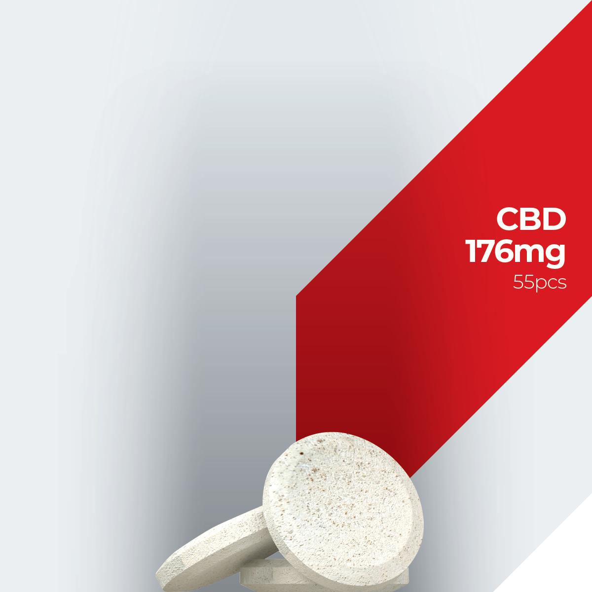 Labocan white label and private label cbd 176mg (55pcs) dog pastilles